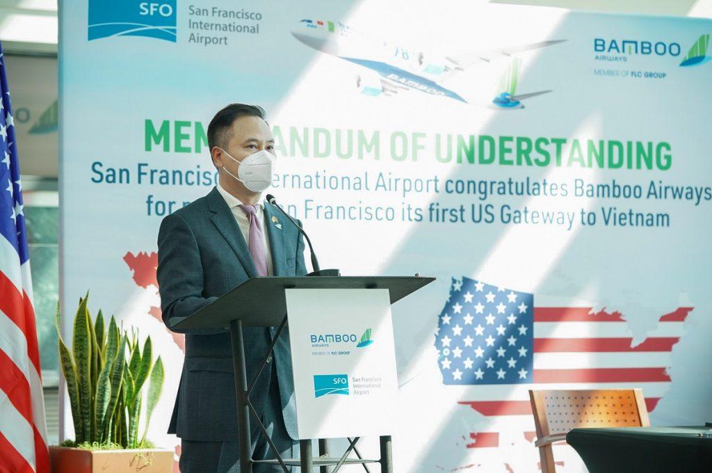 Bamboo Airways khai thác đường bay thẳng đi Mỹ
